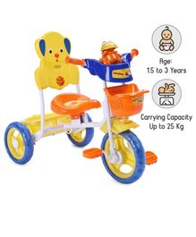 Babyhug Musical Froggy Tricycle - Orange