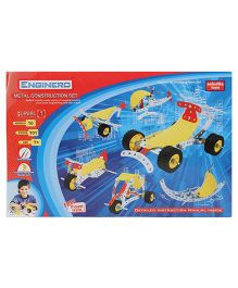 Enginero Metal Construction Set Level 1 - 101 Pieces