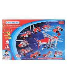 Enginero Metal Construction Set Level 3 - 195 Pieces