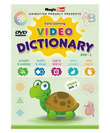 Preschool Video Dictionary DVD 1 - English