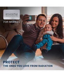Envirochip Radiation Protector Chip For Mobile Phone Family Pack Of 4