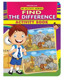 My Activity Find The Difference Activity Book - English