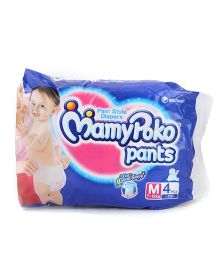 MamyPoko Pant Style Diaper Medium - 4 Pieces