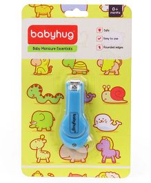 Babyhug Easy Grip Nail Clipper - Blue