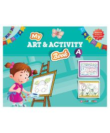 My Art And Activity Book A - English