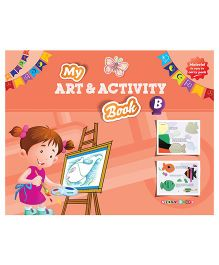 My Art And Activity Book B - English