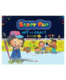Super Fun Art And Craft Book A - English