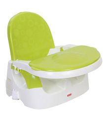 Fisher Price Clean N Go Booster - Green