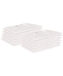 Lula Muslin Napkins Set of 12 - White