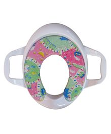 Sunbaby Cushion Potty Seat With Handles (Print May Vary)