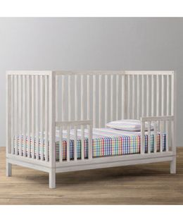The Baby Atelier Fitted Checks Crib Sheet - Multi Colour