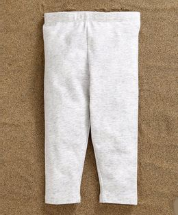 Fox Baby Full Length Leggings - Light Grey