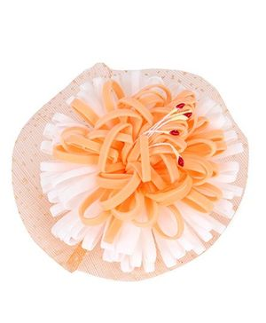 The KidShop Forest Flower Clip - Orange