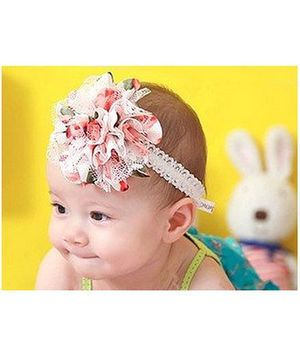Akinos Kids Princess Flower Headband - Pink