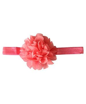 Akinos Kids Pretty Flower Headband - Peach