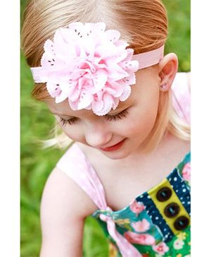 Akinos Kids Pretty Flower Headband - Light Pink