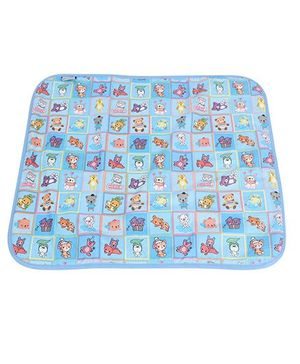 1st Step Baby Mat Bear Print - Blue