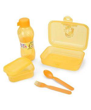 Pratap Happy Bite Lunch Box Set - Yellow