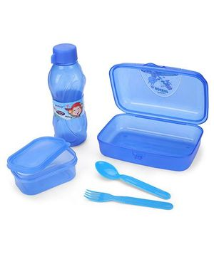 Pratap Happy Bite Lunch Box Set - Blue