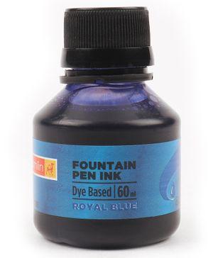 Camlin Fountain Pen Ink Royal Blue - 60 ml