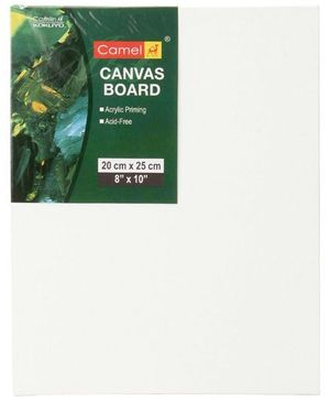 Camel Canvas Board - White