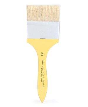 Camlin Paint Brush For Oil And Acrylic Colors Yellow - 22.5 cm