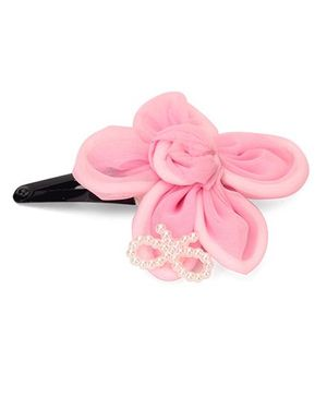 Funkrafts Flower Hair Clip - Pink