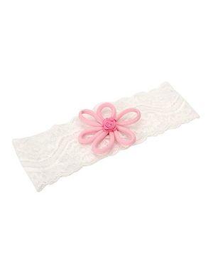 Funkrafts Trendy Floral Headband - Pink