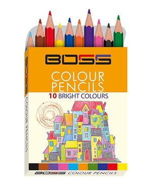 Boss Color Pencil Half - Pack of 19