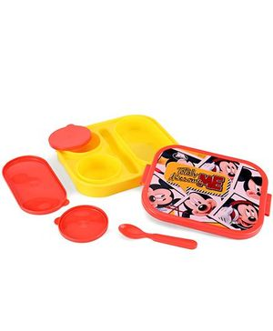 Disney Mickey Mouse Lunch Box - Yellow And Red