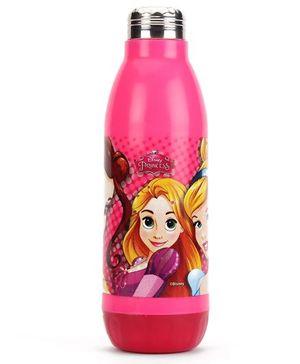Disney Princess Water Bottle Pink - 450 ml