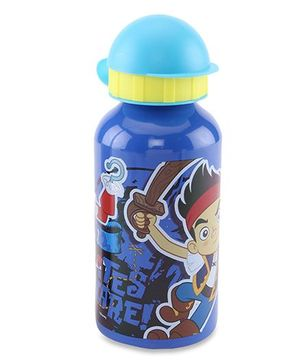 Disney Jake Aluminum Sipper Bottle Blue - 400 ml