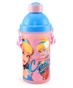Disney Cinderella Sipper Bottle Light Pink - 500 ml