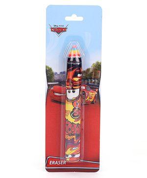Disney Pixar Cars Pencil Shaped Eraser - Red