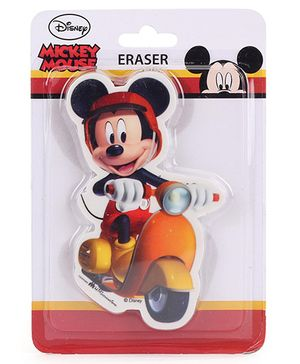 Disney Mickey Mouse Die Cut Eraser - Multicolor