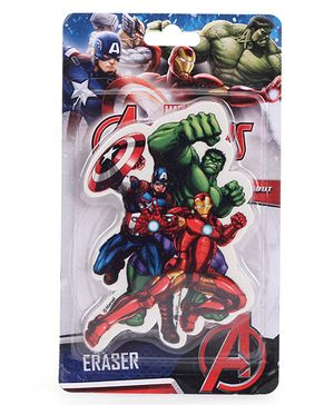 Marvel Avengers Die Cut Eraser - Multicolor