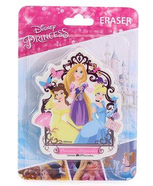 Disney Princess Die Cut Eraser - Multicolor