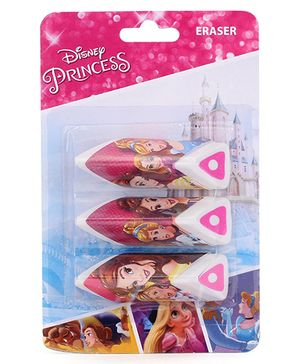 Disney Rapunzel Chocolate Shaped Erasers - Pack Of 3