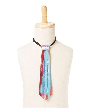 Brown Bows Dye Tie - Multicolour