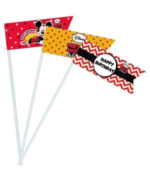 Disney Mickey Mouse Drink Straws - Pack of 10 Straws