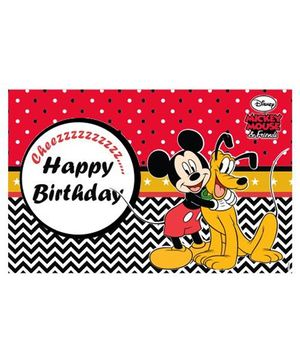 Disney Mickey Mouse Table Mats - Pack of 6
