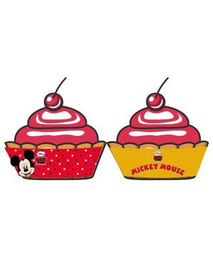 Disney Mickey Mouse Cupcake Wrappers - Pack of 10