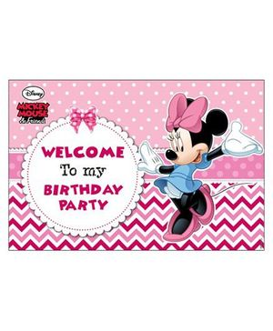 Disney Minnie Mouse Entrance Banner - Pink