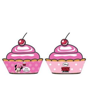 Disney Minnie Mouse Cupcake Wrappers