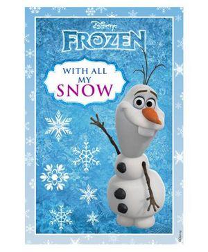 Disney Frozen Vertical Banner 04 - Blue