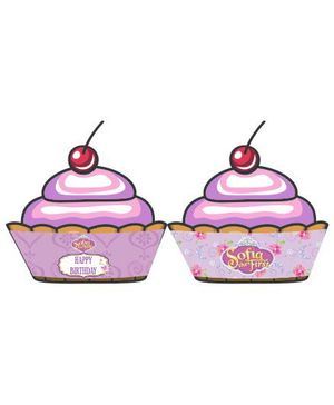 Disney Sofia The First Enchanted Garden Party Cupcake Wrappers - Pack of 10