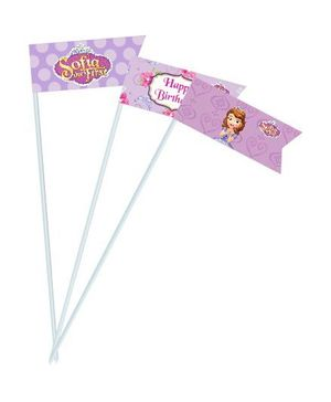 Disney Sofia The First Enchanted Garden Party Drink Straws - Pack of 10