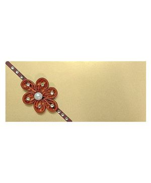 Creative Hand Quilling Shagun Envelopes - Gold