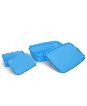 Cello Homeware Max Fresh Compact Lunch Box Set - Blue