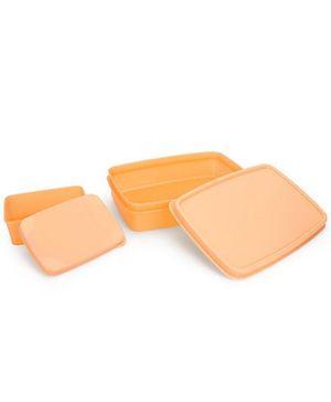 Cello Homeware Max Fresh Compact Lunch Box Set - Yellow